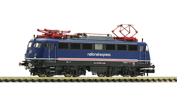 Fleischmann 733675 Elektrolokomotive BR 110 des National Express mit Sound