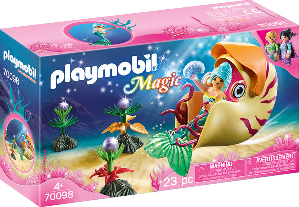 Playmobil Magic 70098 Nautilus-Gondel