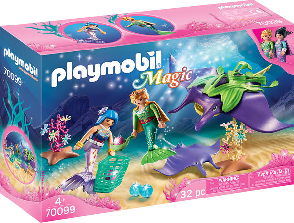 Playmobil Magic 70099 Perlensammler mit Rochen