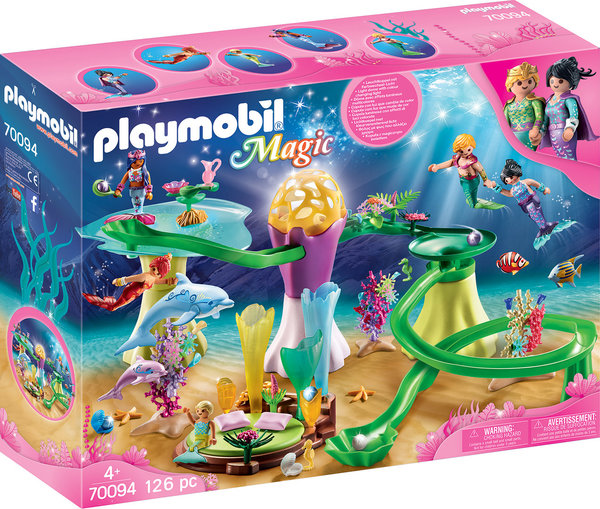 Playmobil Magic 70094 Korallenpavillon mit Leuchtkuppel
