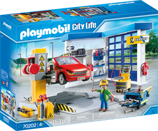 Playmobil City 70202 Autowerkstatt