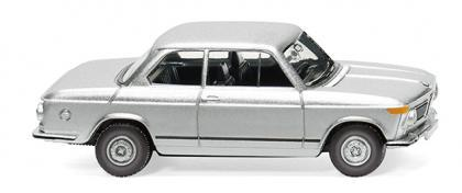 Wiking 018306 BMW 2002 silber-metallic