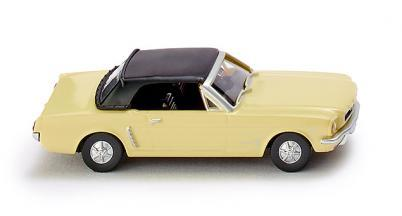 Wiking 020599 Ford Mustang Cabrio sunlight yellow